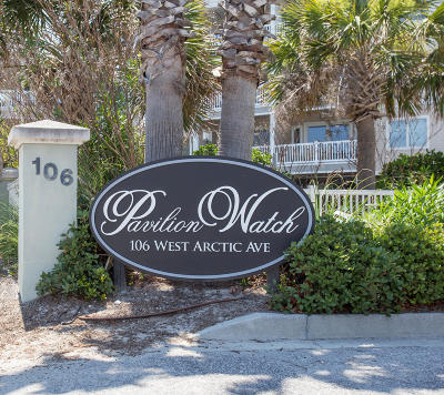 Folly Beach SC Attached For Sale: $775,000