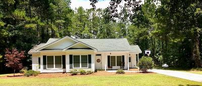 Walterboro Single Family Home Contingent: 3074 Peniel Road