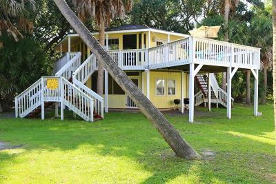 Edisto Beach Single Family Home For Sale: 613 Pompano Street