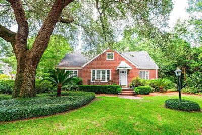 Riverland Terrace Single Family Home For Sale: 2050 Wappoo Drive