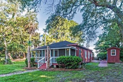Folly Beach Single Family Home Contingent: 214 E Huron Avenue