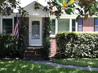 Charleston Single Family Home Contingent: 516 Risher Street