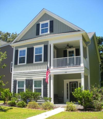 Johns Island Single Family Home For Sale: 1831 Towne Street