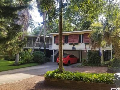 Isle Of Palms Single Family Home For Sale: 26 23rd Avenue