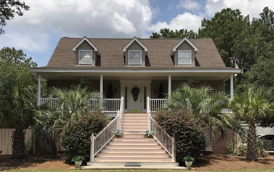 Edisto Island Single Family Home For Sale: 856 Edding Creek Drive