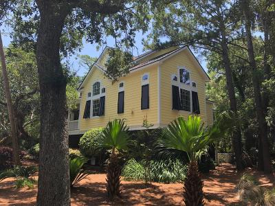 Isle Of Palms Single Family Home For Sale: 5 Sandwedge Lane