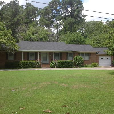Holly Hill Single Family Home For Sale: 1525 Bennett Circle