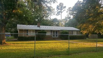 Walterboro Single Family Home For Sale: 405 Tulip Drive