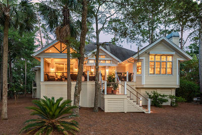 Seabrook Island Single Family Home For Sale: 2938 Deer Point Drive