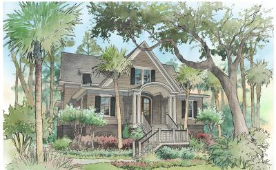 Seabrook Island Single Family Home For Sale: 3137 Baywood Drive