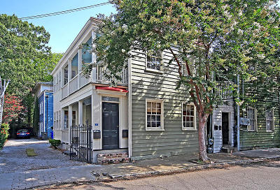 Charleston Single Family Home For Sale: 4 Bogard Street