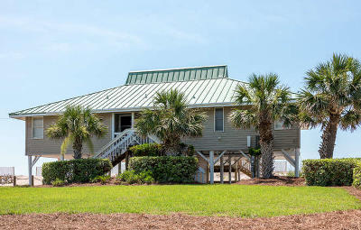 Edisto Beach Single Family Home For Sale: 902 Palmetto Boulevard