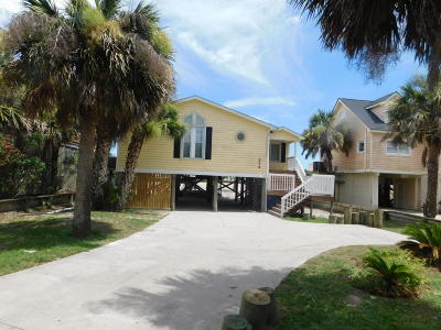 Folly Beach SC Single Family Home For Sale: $1,090,000