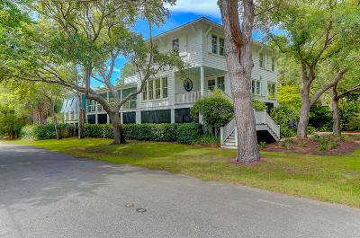 Sullivans Island Single Family Home For Sale: 2402 Goldbug Avenue
