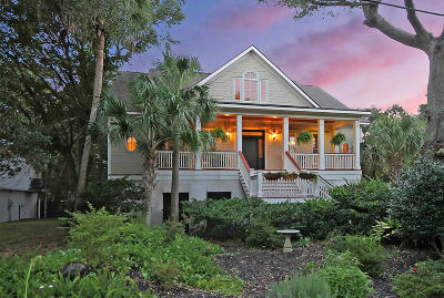 Isle Of Palms Single Family Home For Sale: 31 27th Avenue