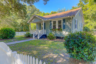 Charleston Single Family Home Contingent: 1 10th Avenue