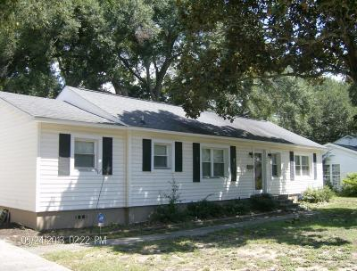 Mount Pleasant Single Family Home For Sale: 654 Adluh Street