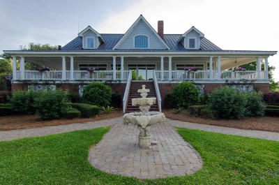 Edisto Island SC Single Family Home For Sale: $1,650,000