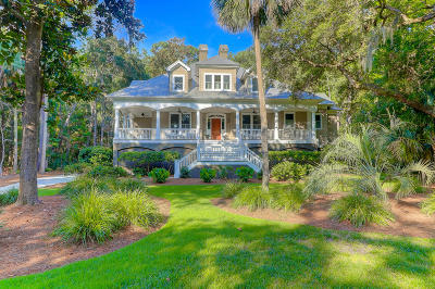 Seabrook Island Single Family Home For Sale: 3201 Privateer Creek Road