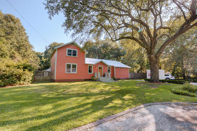 Charleston Single Family Home For Sale: 1609 Bur Clare Drive