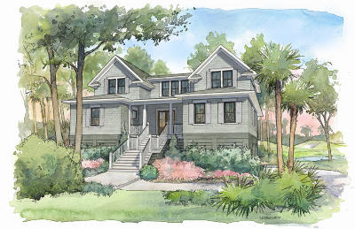 Seabrook Island Single Family Home For Sale: 3262 Seabrook Island Road