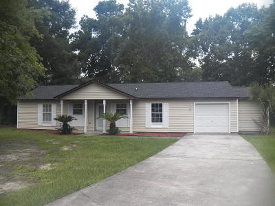 Goose Creek Single Family Home Contingent: 13 Folksten Place