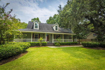 Charleston Single Family Home For Sale: 122 Ashley Hall Plantation Road