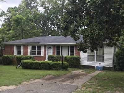 Charleston SC Single Family Home For Sale: $181,900