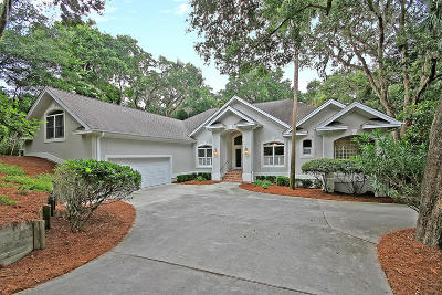 Seabrook Island Single Family Home For Sale: 2611 High Hammock Rd