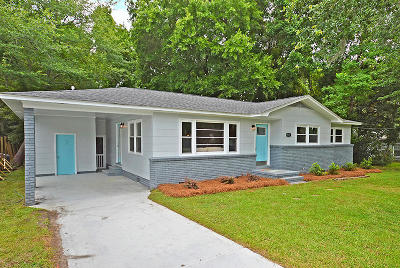 Charleston Single Family Home Contingent: 723 Blitchridge Road