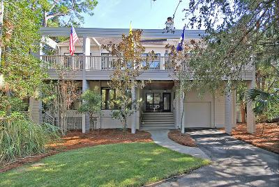Single Family Home For Sale: 175 Marsh Island Drive