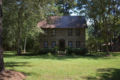 Walterboro Single Family Home For Sale: 645 Benton Farm Road