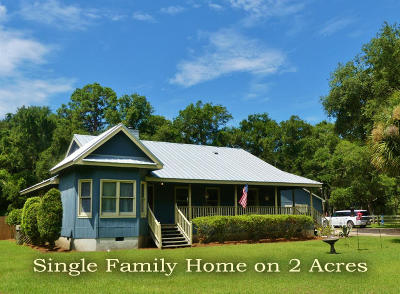 Single Family Home For Sale: 8830 Shell House Road