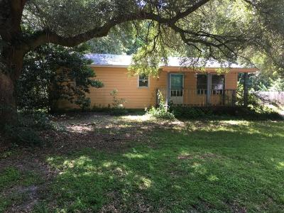 Johns Island Single Family Home Contingent: 1716 Barracuda Road