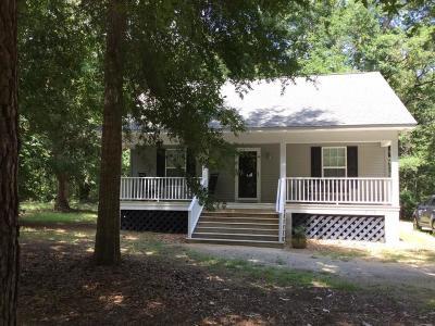 Edisto Island Single Family Home Contingent: 8168 Beach Farm Lane