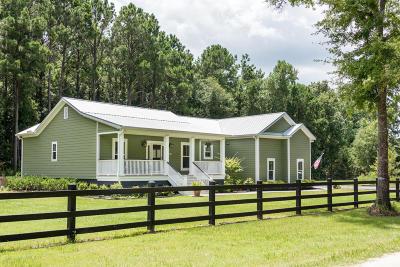 Awendaw Single Family Home Contingent: 1497 Cedar Plantation Lane