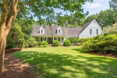 Mount Pleasant Single Family Home For Sale: 1167 Farm Quarter Road