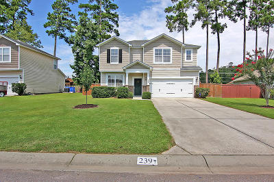 Summerville Single Family Home For Sale: 239 Meadow Wood Road