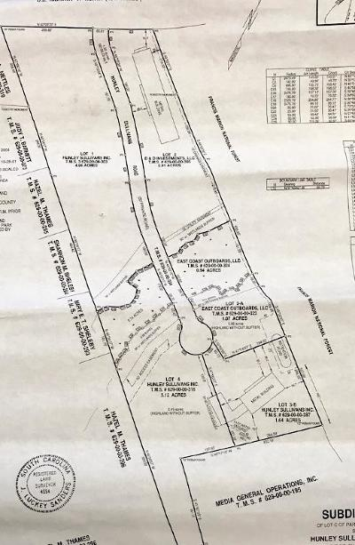 Awendaw Residential Lots & Land For Sale: 1030 Hunley Sullivan's Road