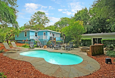 Isle Of Palms Single Family Home For Sale: 223 Forest Trail