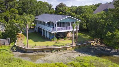 Folly Beach Single Family Home For Sale: 1225 Tabby Drive