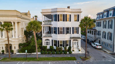 Charleston Single Family Home For Sale: 31 E Battery Street