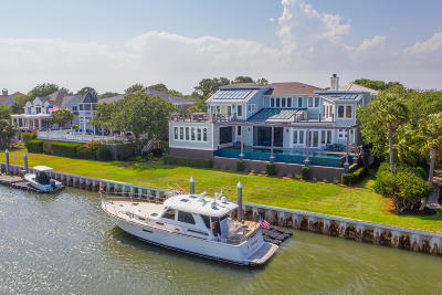 Isle Of Palms Single Family Home For Sale: 39 Waterway Island Drive