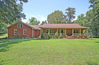 Berkeley County, Charleston County, Colleton County, Dorchester County Single Family Home For Sale: 3866 Humbert Road