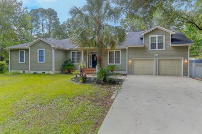 Johns Island Single Family Home For Sale: 1858 Bluebird Road