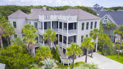 Isle Of Palms Single Family Home For Sale: 6 Beachwood E