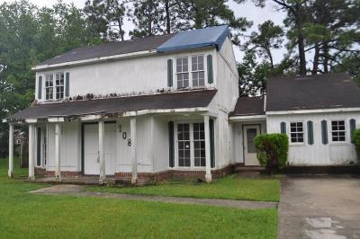 Summerville Single Family Home Contingent: 108 Chestnut Court