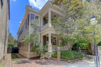 Single Family Home For Sale: 52 Tradd Street