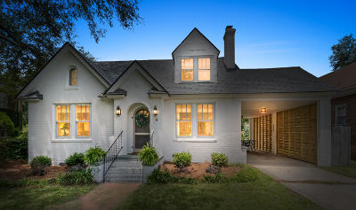 Charleston Single Family Home For Sale: 4 Belvue Road