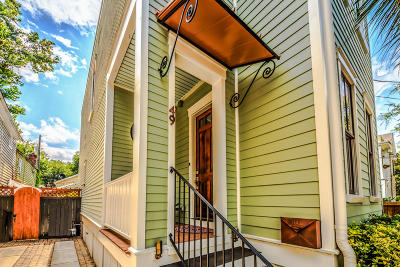 Charleston Single Family Home For Sale: 49 Ashe Street